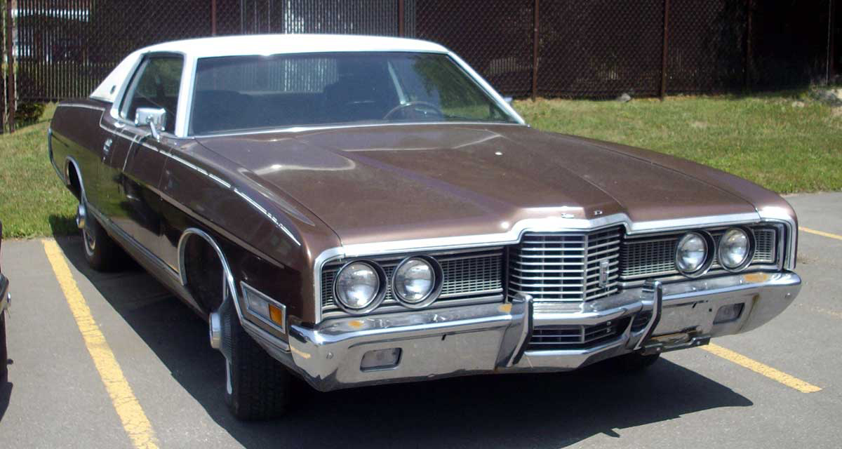 #5 1974 Ford LTD used in Live And Let Die