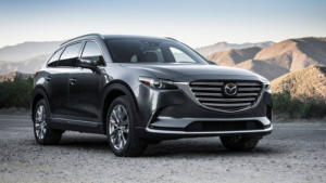 The all-new CX-9 with Skyactiv technology utilizes an innovative design inside and out.