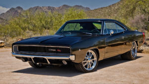 Dodge Charger 1970 title pic black