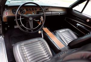 Dodge Charger interior 1970