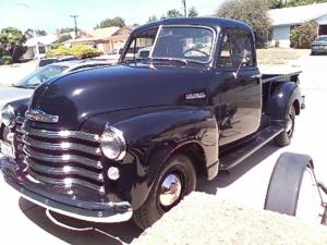 Joan's 51' Chevy pick up 8-7-15 (2)