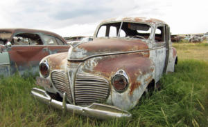 A Rusted Car Will Never Return to Factory Condition