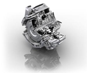 ZF 9-Speed Transmission. One Of The New High-Tech Transmissions
