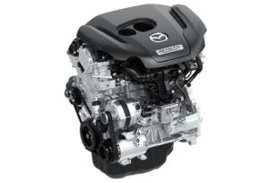SKYACTIV-G 2.5 liter turbocharged engine with 250 Horsepower and 310 lb-ft of torque